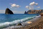 Яшмовый, Монастырский пляж
